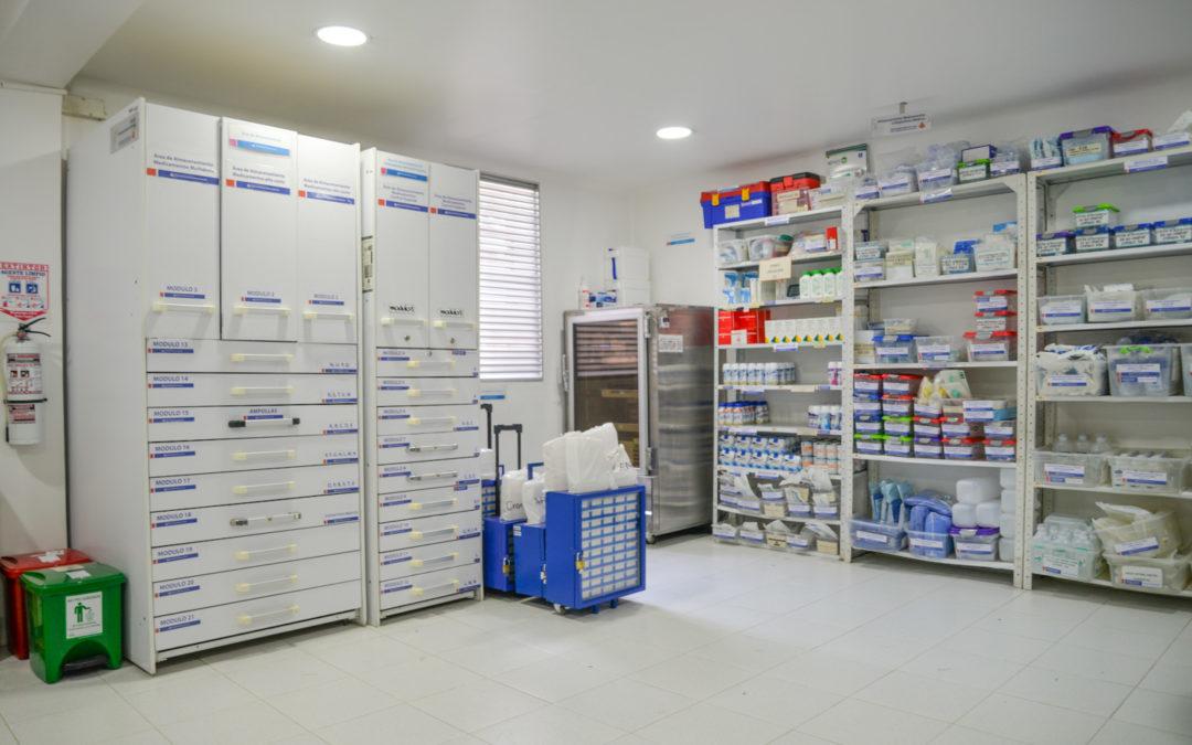 Remodelación de zonas de farmacia