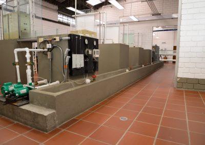 Remodelacion del laboratorio de Hidraulica y oficinas