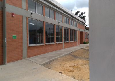 Construcción de obras de urbanismo para la Sede Maria Auxiliadora IE Miguel Antonio Caro en Funza